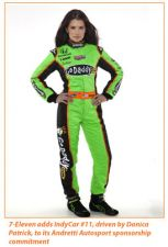 Danica Patrick is now on Team 7-Eleven