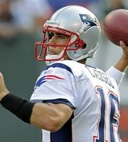 Cassel Leads Patriots To Victory